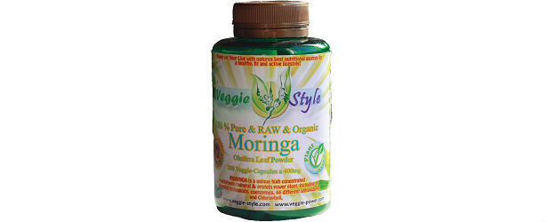 Veggie Style Protein Moringa Oleifera Powder Capsules Review